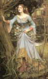 Waterhouse, John William: Ophelia. Fine Art Print/Poster. Sizes: A4/A3/A2/A1 (00843)